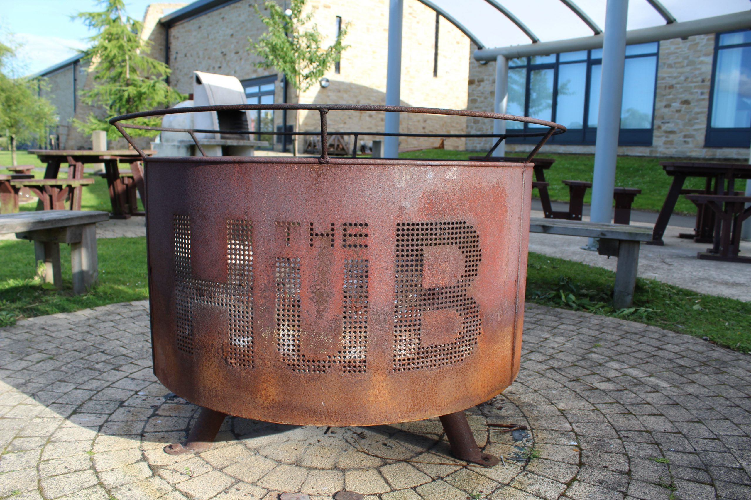 Barbeque at the Hub