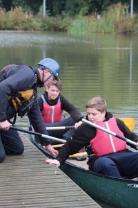 Canoeing at the TCRHub