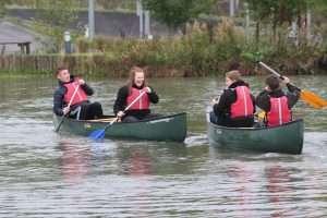 Canoeing Barnard Castle