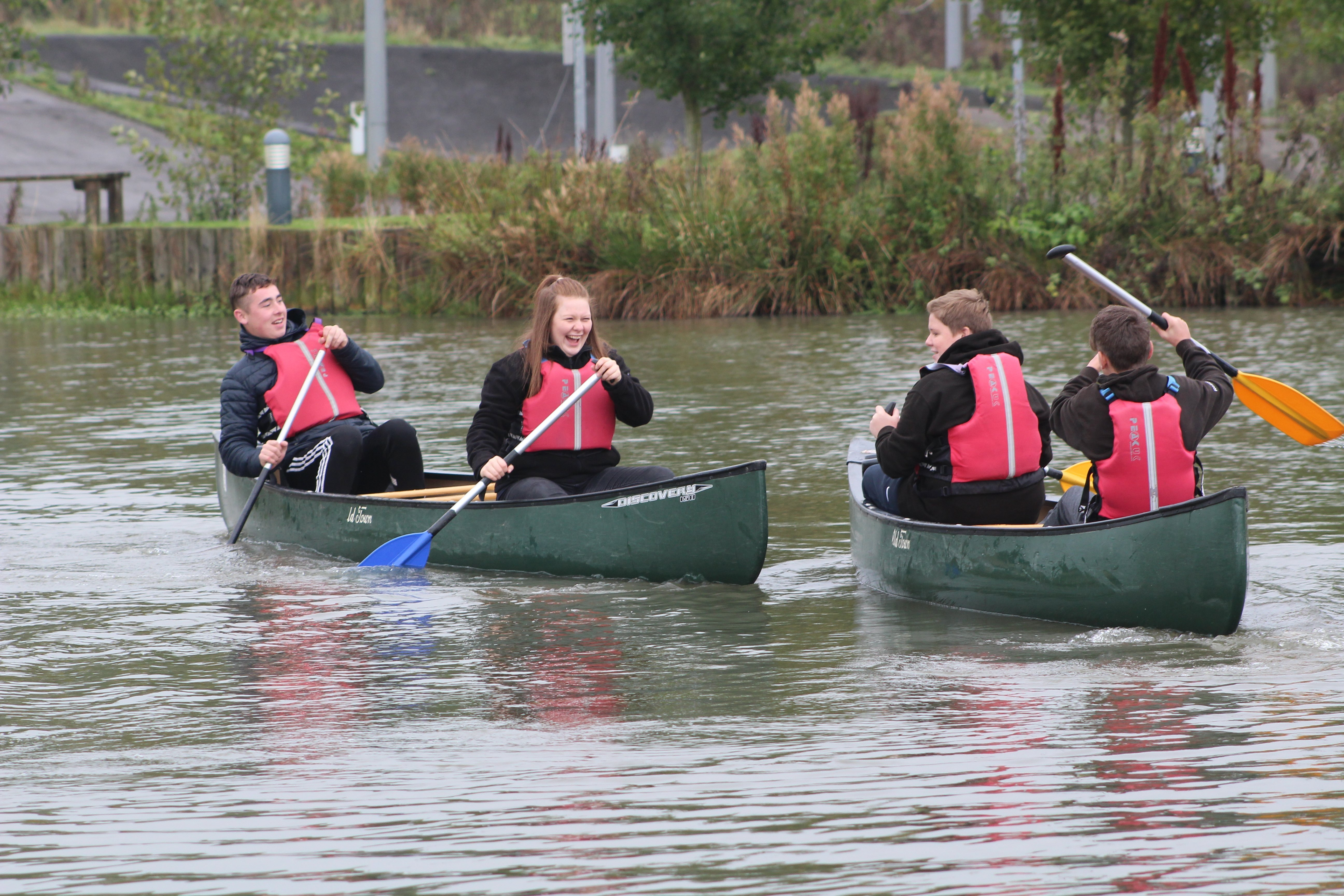 Canoeing Co Durham