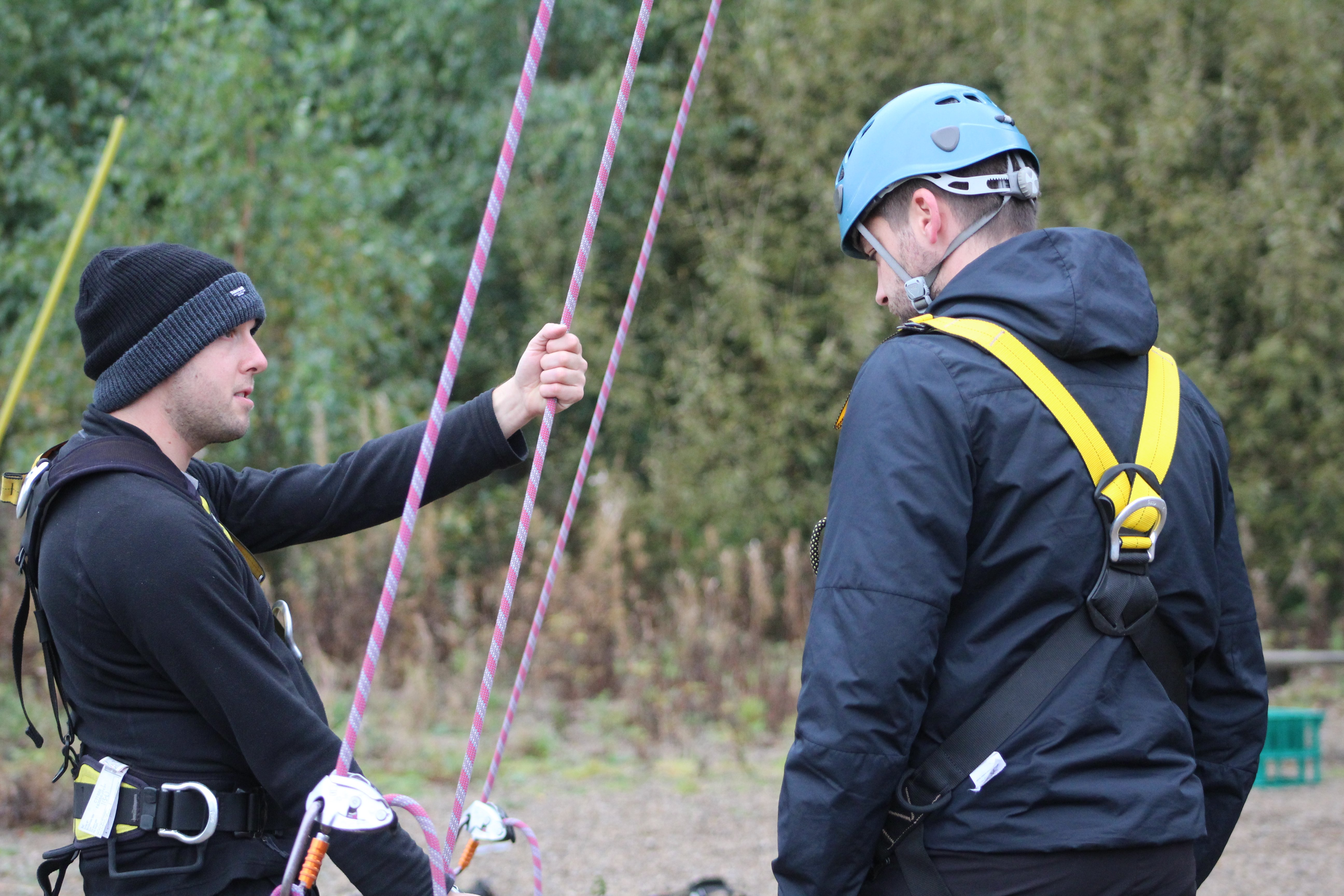 Instruction for High Ropes
