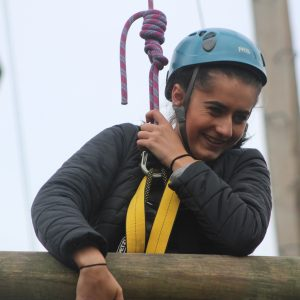 Fun on the High Ropes