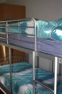 Bunk Beds at the TCR Hub