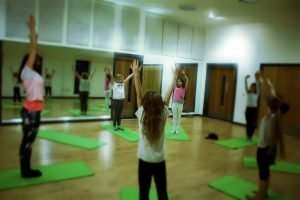 Yoga Bunnies at the TCR Hub