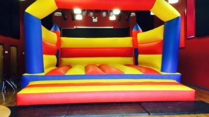 TCR Hub Bouncy Castle
