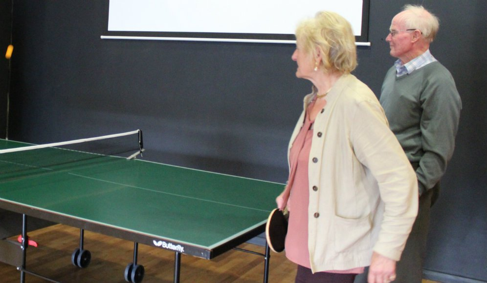 Opportunities sought for the older generation at The Hub