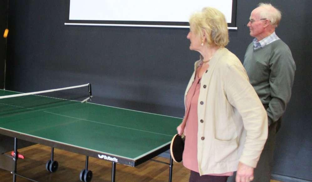 Older generation at The Hub