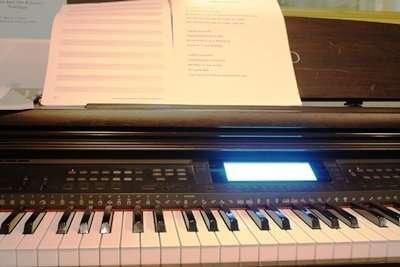 Music Lessons Resume