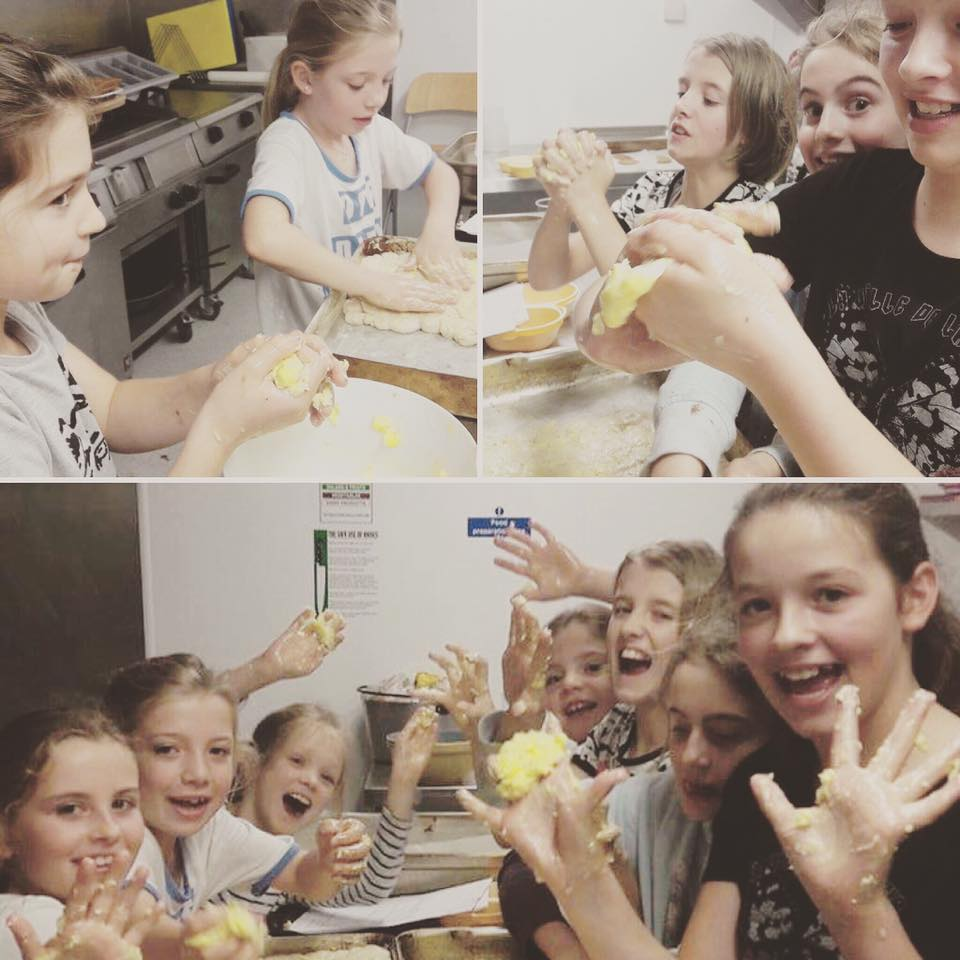 Children's cookery courses continue