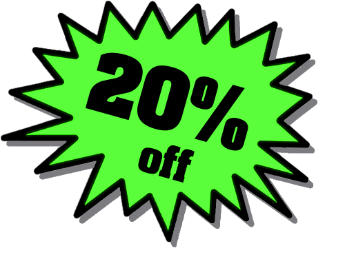 20% off for GSK employees!
