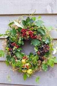 wreath making Barnard Castle