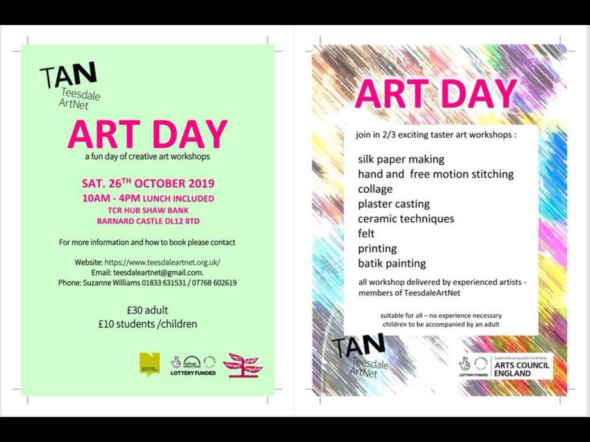 Art Day Creative Workshops