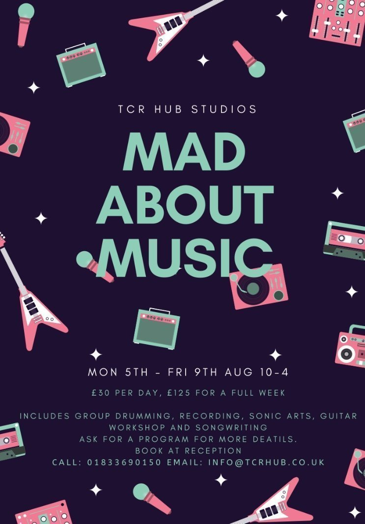Mad About Music Week, Summer 19