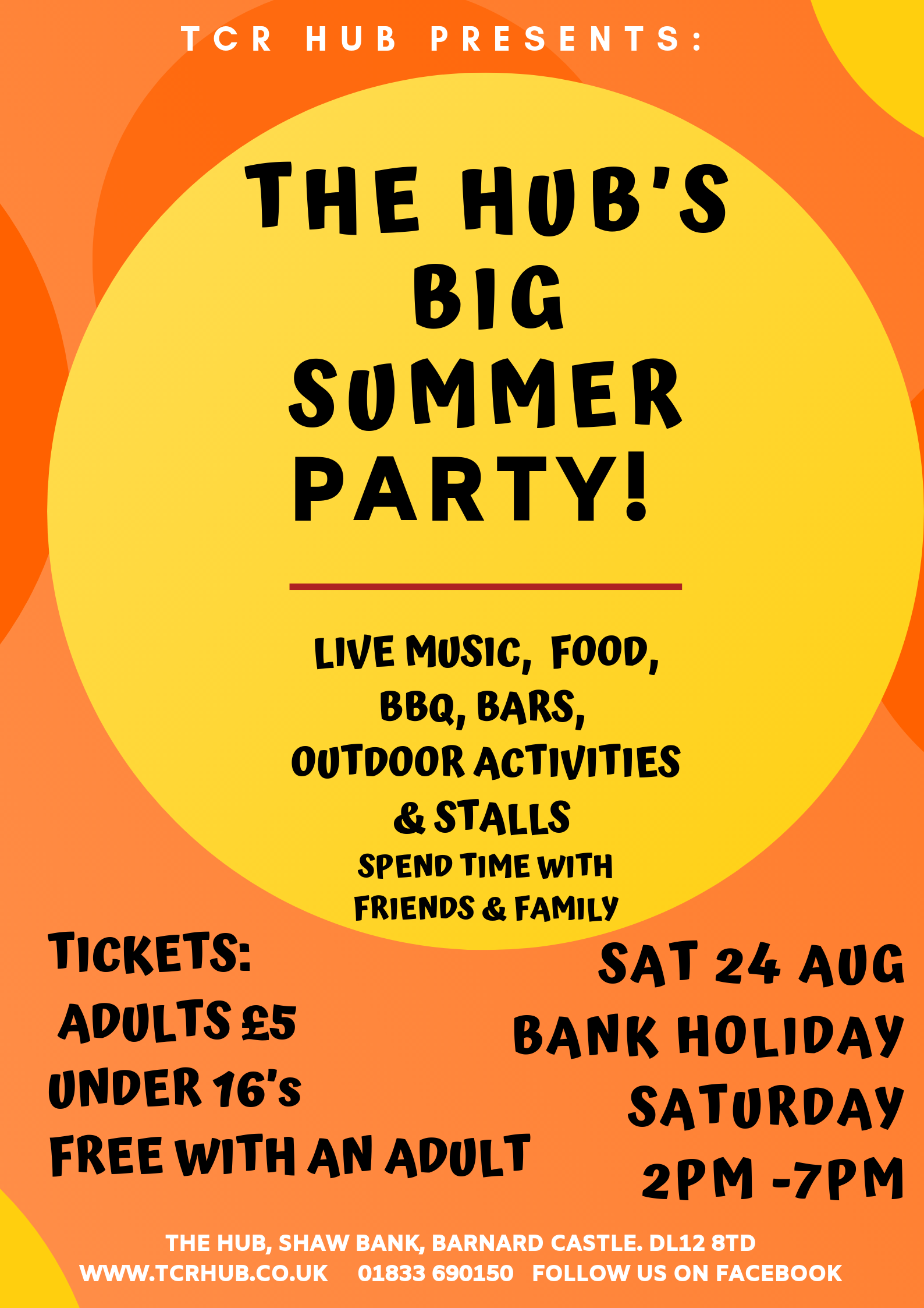 The Hub's Big Summer Party! 🎉