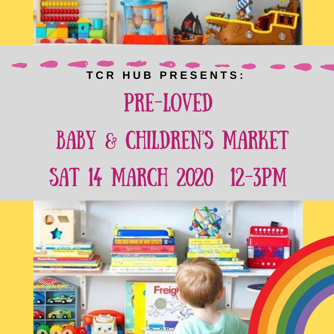 Pre-Loved Baby & Children's Items – Pop up Market