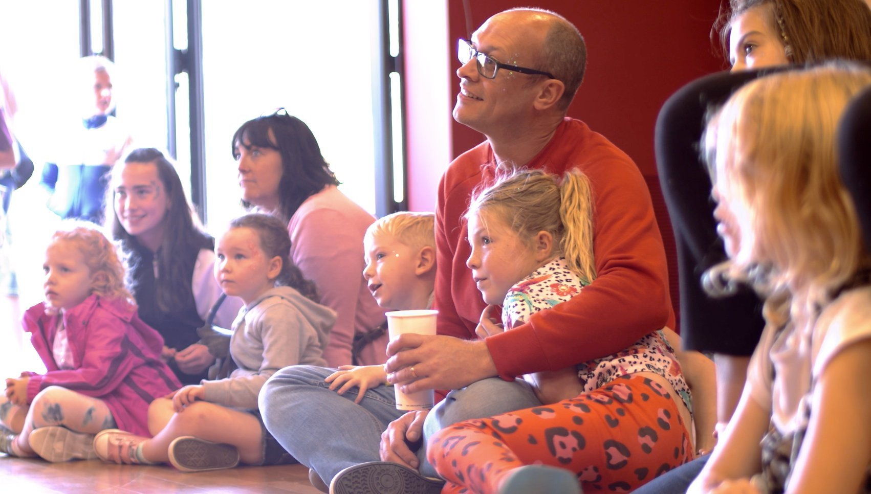 families at the TCR Hub