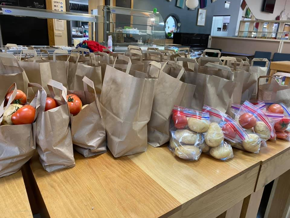 care packages TCR HUB