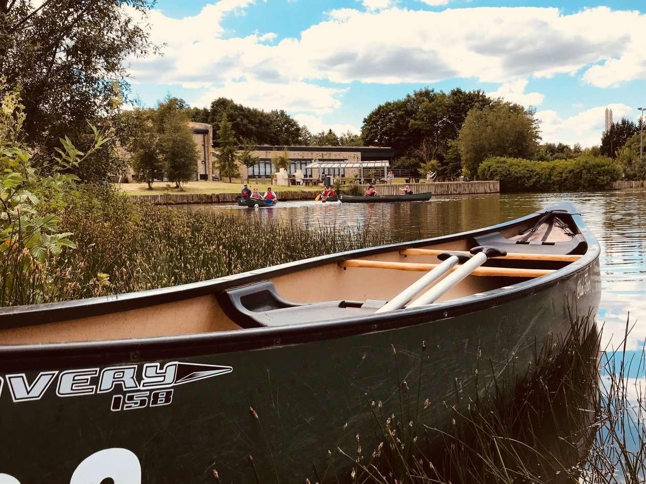 Canoeing TCR Hub Barnard Castle
