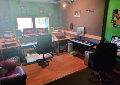 recording studio TCR Hub