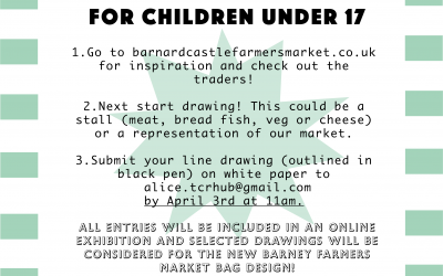 Have Your Drawing of Farmers Market Published
