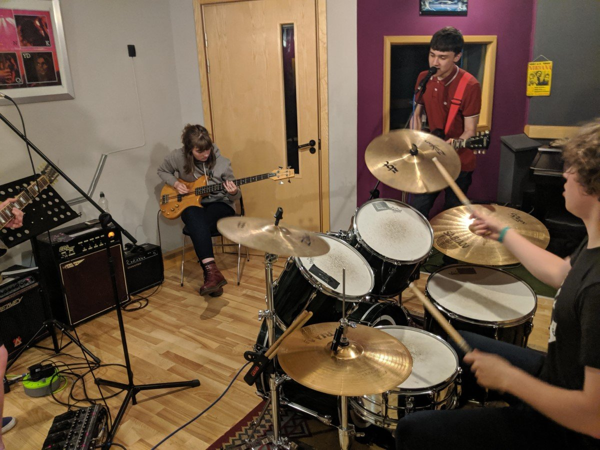 Young musicians TCR Hub