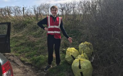 Litter picking campaign unites community to Keep Teesdale Tidy