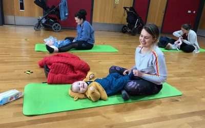 Mum and Baby Yoga with Sarah