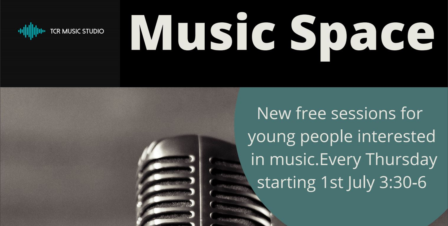 Music Space - new free sessions for young people interested in music