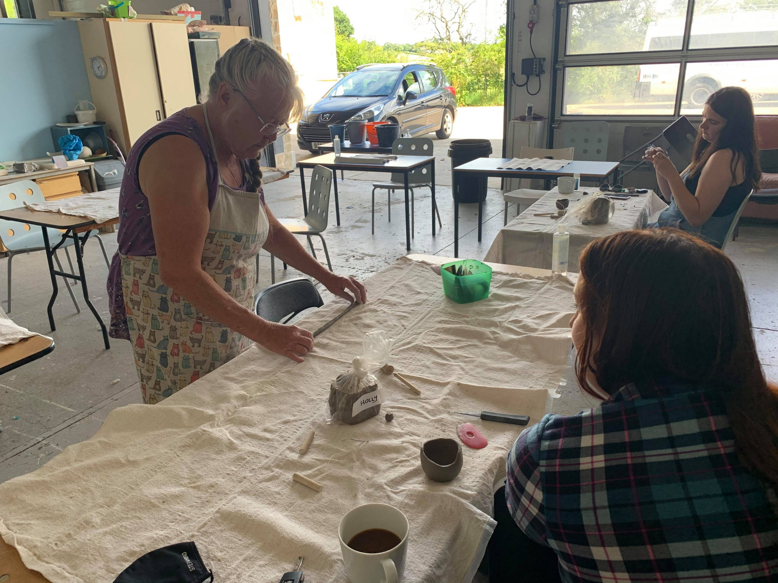 Clay workshop TCR Hub Now project