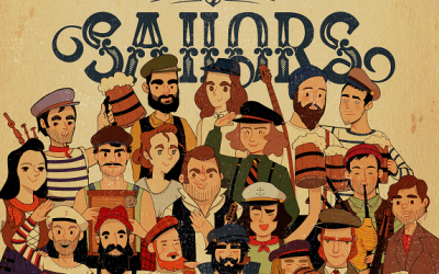 Old Time Sailors: Festival Friday All At Sea!