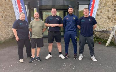 Sporting Force Veterans Enjoy Weekend at the TCR Hub